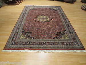 7x10 FORMAL Fine GORGEOUS Intricate Museum Handmade Knotted Wool Rug 582175