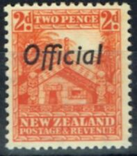 Lightly Hinged Single New Zealand Stamps