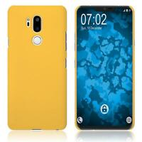 Case  for LG G7 ThinQ Hardcover rubberized yellow Cover
