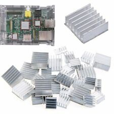 30Pcs 10Set Raspberry Pi 3 Heatsink Fans Pure Aluminum Heat Sink Fr Cooling Pi 2