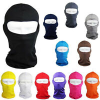 Ultra-thin Full Face Mask Lycra Balaclava Cycling Motorcycle Ski Protecting Warm