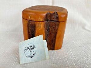 Rocky Mountain Juniper Box Jan Falkenberg Blue Rock Boxes Certificate Handcraft