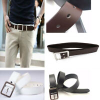Fashion Faux Leather Belts Alloy Pin Buckle Waistband Men's Waist Belts-Hot