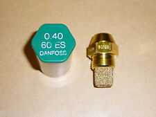 Danfoss Oil Boiler Burner Nozzle 0.40 x 60 ES USgal/h Jet 0.4 Nozzel 1.20 Kg/h