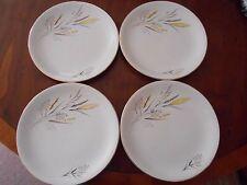 "Vintage  Barratts Delphatic ""Ears of Corn""  plates x 4 .   22.5 cms diameter"