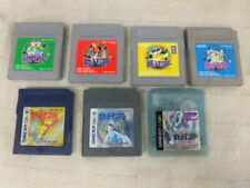 Gameboy Pokemon Green Red Blue Pikachu Gold Silver Crystal set GB GBC