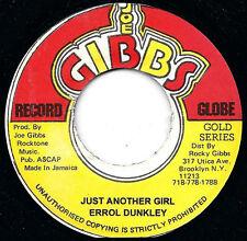 ERROL DUNKLEY - JUST ANOTHER GIRL (JOE GIBBS) 1972