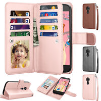 Motorola Moto E5 Play/ Moto E5 Cruise Wallet Leather Phone Case Flip Stand Cover
