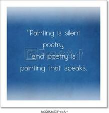 Inspiration Art Print / Canvas Print. Poster, Wall Art, Home Decor - C
