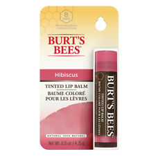 3 x 4.25g Burts Bees Lip Balm Tinted Hibiscus