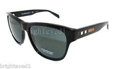 Authentic BURBERRY Black Wayfarer Sunglasses BE 4131 - 300187 *NEW*