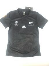 Adidas All Blacks World Cup Rugby Womans Jersey 2019 Black Size XL DY3784
