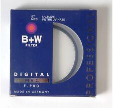 B+W 67mm Mrc UV Haze Protective Filter For Pentax Sony Canon Nikon Olympus Leica