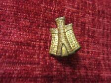 Military Cap Badge Unknown Army Castle Original