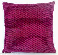 Pink Cushion Cover Designers Guild Throw Pillow Case Chenille Fabric Brescia