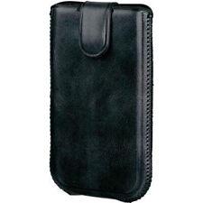Hama Handy-Tasche Country schwarz für Samsung Galaxy S3 mini Leder-Sleeve