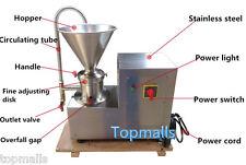 220V 750W Colloid Mill Machine Soybean Milk Colloid Mill Grinder 50kg/h
