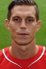 Football Photo>DANIEL AGGER Liverpool 2014-15