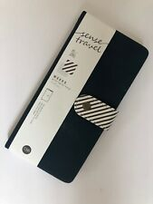"""""""Travel Sense"""" 1pc Weekly Planner Traveler Journal Notebook Faux Leather Diary"""