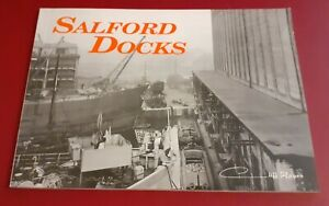 SALFORD DOCKS Cliff Hayes Manchester Ship Canal Company Booklet Photographs PB