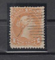 Y4579/ CANADA – SG # 56b USED – CV 145 $