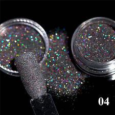 2g Beauty Holographic Nail Art Powder Sugar Glitter Dust Manicure Decoration DIY