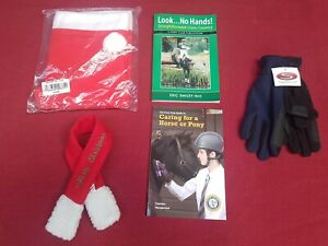 NEW EQUESTRIAN WHOLESALE CLEARANCE JOB LOT XMAS RIDING HAT COVER DOG SCARF GLOVE