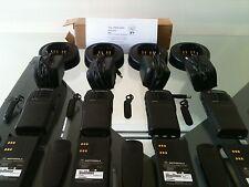(4) MOTOROLA HT750 TWO-WAY PORTABLE RADIOS VHF 136-174MHz  AAH25KDC9AA3AN  XTS