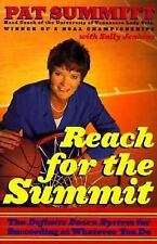 Reach for The Summit By Pat Summitt - Coach Of Tennessee Lady Vols 1st/2nd Print