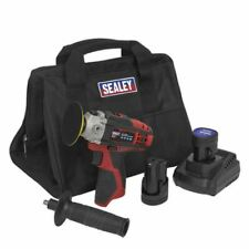 Sealey Cordless Hand Polisher Kit 75mm 12V - 2 Batteries CP1205KIT With Bag