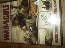 War in the Gulf- Desert Storm: The ground assault DVD NEW SEALED