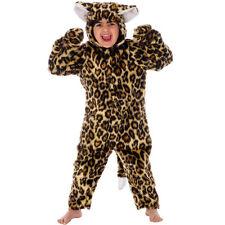Kids Childs Costume Leopardo Grande Gatto Selvatico Vestito 98 cm 2-3 anni