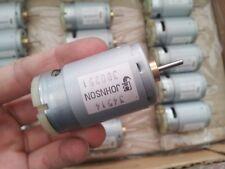 JOHNSON High Quality Torque DC 12v - 24v 14800rpm electric tool small 395 Motor