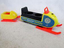 Vintage 1970 Fisher Price Play Family Mini Snowmobile set no. 705