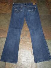 418 American Eagle 4 x 29 Favorite Boyfriend Jeans Low-Rise Dark Stretch Denim
