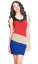 Strapless Short Stripes Dresses for Women
