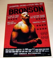 """BRONSON PP SIGNED PHOTO POSTER A4 12""""X8"""" TOM HARDY"""