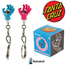 kidrobot Santa Cruz Screaming Hand Keychain / Zipper Pull Blind Box - Sealed