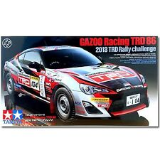 KIT TAMIYA 1:24 AUTO  GAZOO RACING TRD 86 2013 TRD RALLY CHALLENGE  ART 24337