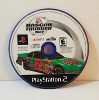 NASCAR Thunder 2002 Sony PlayStation 2 2001 ps2 ea sports racing driving game