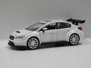 """1:24 Mr.Little Nobody's Subaru WRX STi """"Fast & Furious"""" Jada 98296"""