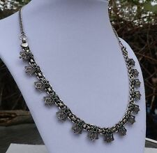 """18"""" Art Deco Style Russian Diopside Necklace"""
