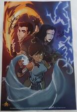 Cast  SIGNED  SacAnime EXCLUSIVE  THE LEGEND OF KORRA  Varney  Faustino  Gabriel