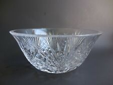 Waterford Crystal Bowl Giftware Collection 9 Inches Mint Condition Signed