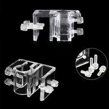 Holder Aquarium Tube Filter Pipe Transparent Acrylic Accessories Fish Tank Lily