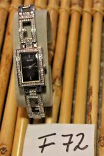 Authentic GUESS Women Silver-tone Crystal Watch G85466L  NICE F72
