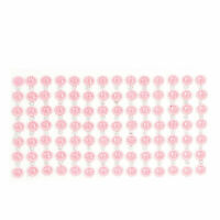 Cell Phone Interior Detail Self Adhesive Faux Crystal Sticker Pink Silver Tone