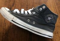 Vintage Converse All Star - Chuck Taylor Hi Top Trainers - Navy - UK Size 8