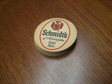 Set of 12 Schmidt's of Philadelphia Light Beer coasters