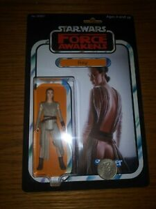 Custom Made Star Wars Sexy Rey Palpatine 3 3/4 lot Leia